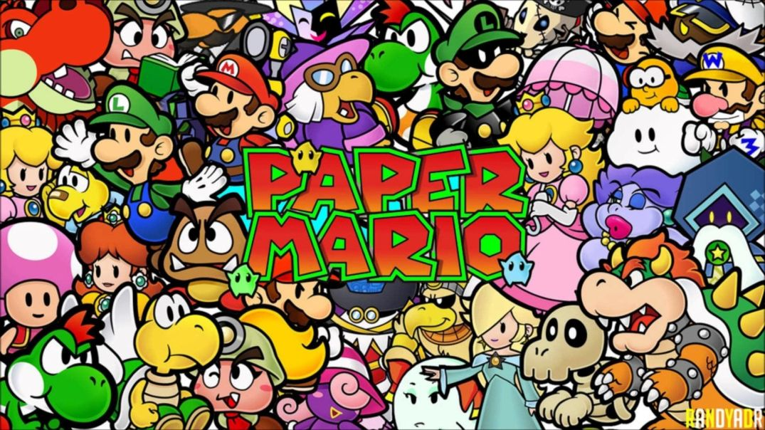 paper mario characters