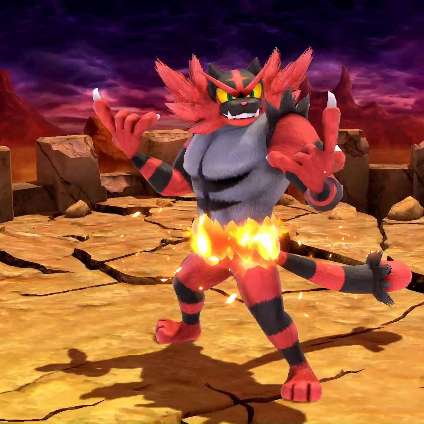 incineroar smash