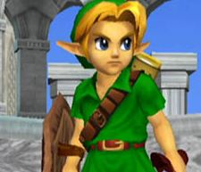 young link super smash bros melee stage hyrule castle