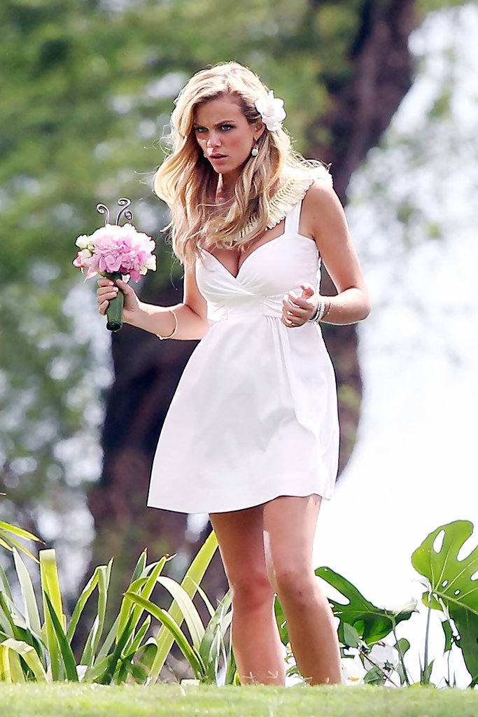 brooklyn decker wedding scene
