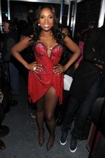 jennifer hudson red dress