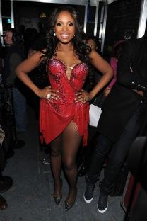 jennifer hudson red dress