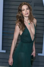Michelle Monaghan green dress