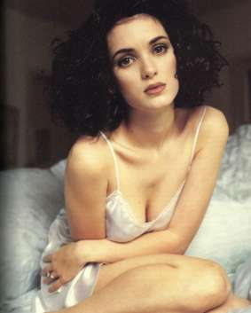 winona ryder night gown