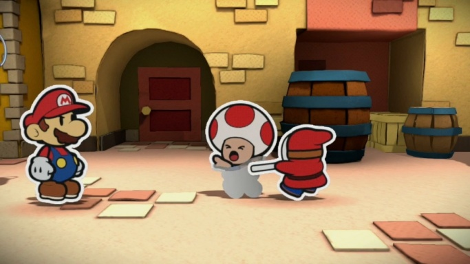 paper mario drained toad