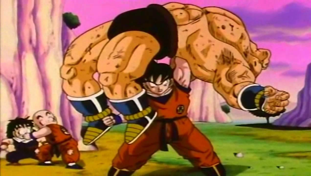 goku beats nappa