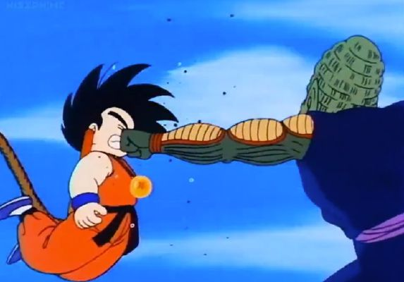 goku losing to king piccolo