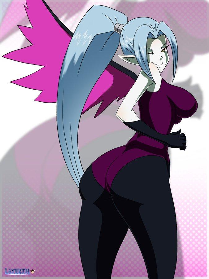 dragon ball bikal butt and boobs