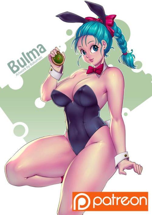 dragon ball bulma bunny big