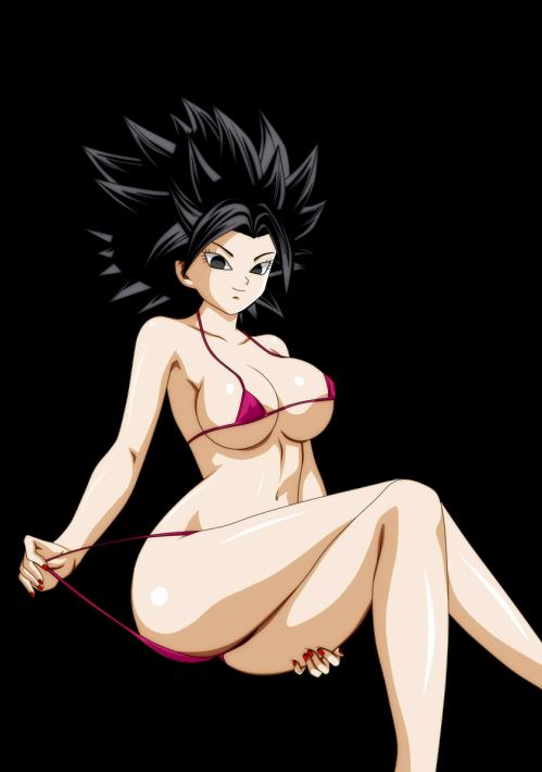 dragon ball caulifla bikini