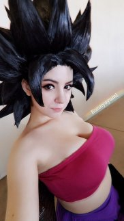 dragon ball caulifla cosplay 3