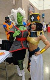 dragon ball heles and zamasu cosplay