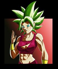 dragon ball kefla ripped shirt