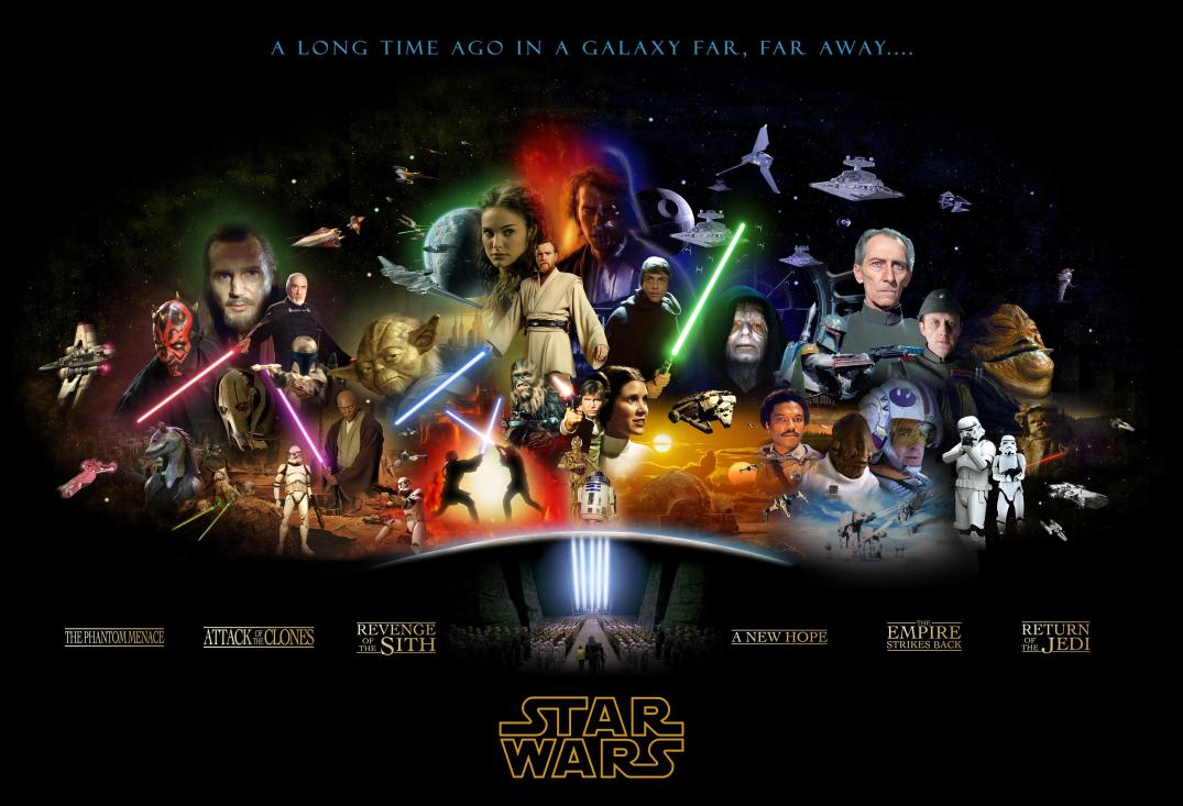 Star Wars all posters